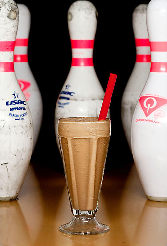 bourbon milkshake